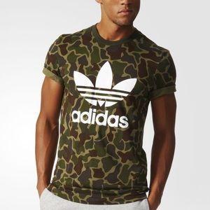 Adidas camo mens shirt